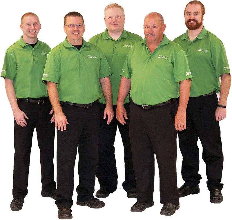 Group of IT team members at Acira